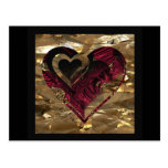 "Una ""cosa de oro del amor "" * postal"