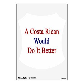 Una costa Rican lo haría mejor