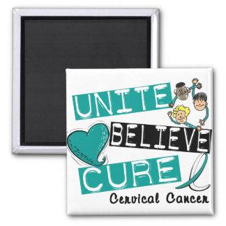 UNA CREEN al cáncer de cuello del útero de la CURA Imanes