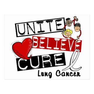UNA CREEN el cáncer de pulmón de la CURACIÓN Postales