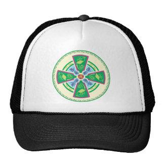 Una cruz céltica actualizada gorra