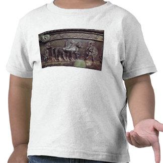 Una cuadriga y un hoplita camisetas