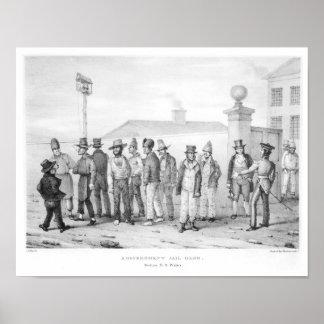 Una cuadrilla de la cárcel del gobierno posters