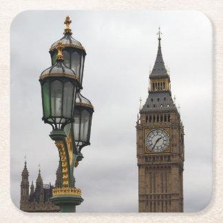 Una cuestión de perspectiva - Londres - práctico Posavasos De Cartón Cuadrado