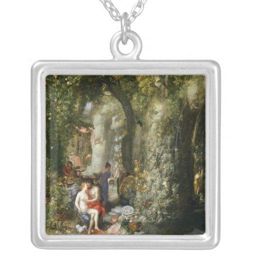 Una cueva fantástica con Odiseo y el Calypso Joyería