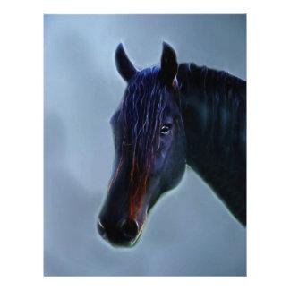 Una curiosidad de los caballos plantillas de membrete