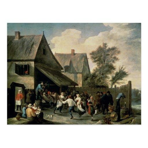 Una danza popular postales