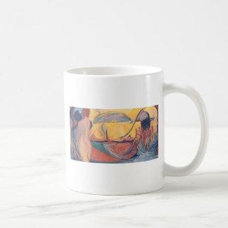 Una danza separada taza de café