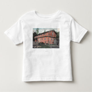 Una de las casas más viejas del valle playeras