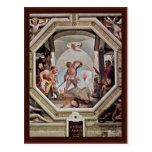 Una de las escenas de la justicia romana postales
