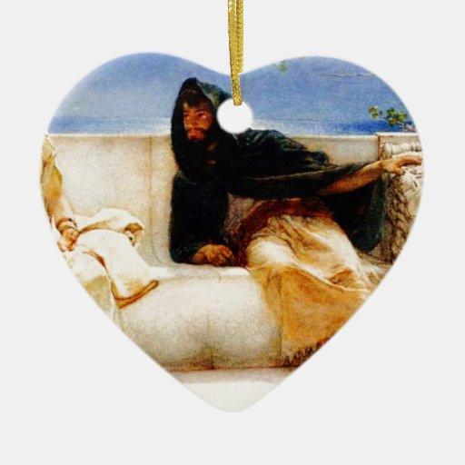 Una declaración de sir Lorenzo Alma Tadema Adorno De Navidad