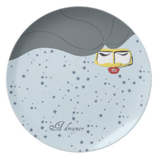 una decoración de la placa del soñador platos para fiestas