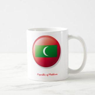uña del pulgar, la República de Maldivas Taza Clásica