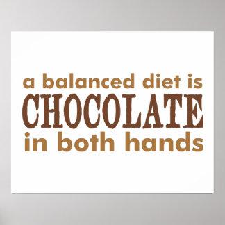 Una dieta equilibrada es… posters