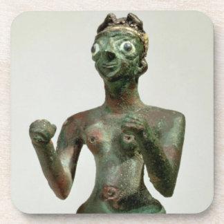Una diosa de Mari, período dinástico temprano, c.2 Posavasos De Bebida