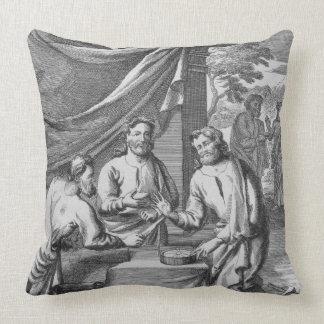 Una discusión entre los cartógrafos ejemplo franc almohadas