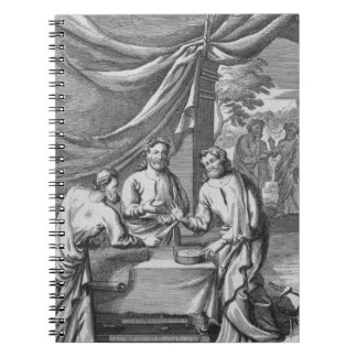 Una discusión entre los cartógrafos, ejemplo franc libro de apuntes