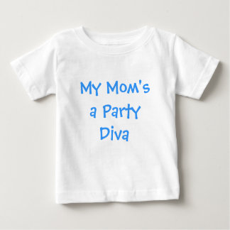 Una diva del fiesta de mi mamá t-shirts