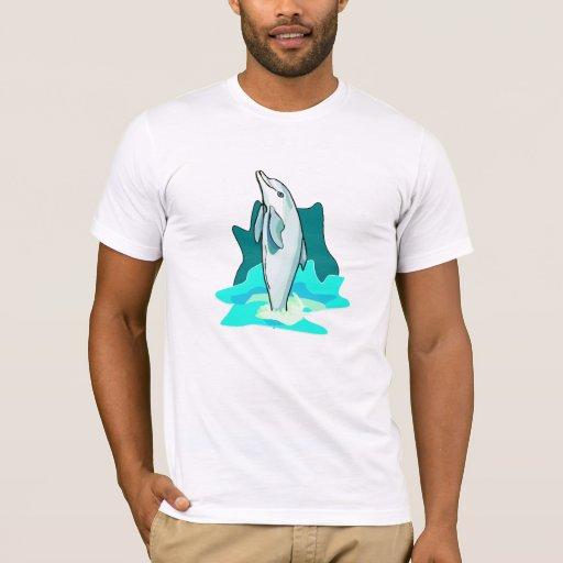 Una diversión del delfín playera