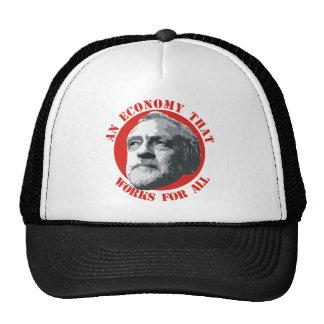 Una economía que trabaja para todos gorras de camionero