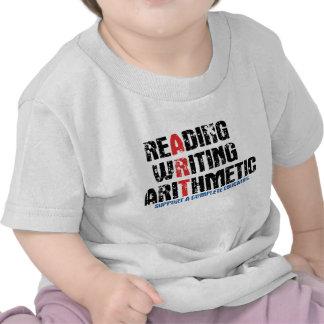 Una educación completa camisetas