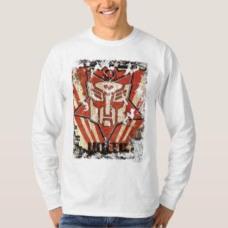 Una - el símbolo de Autobot Camisas