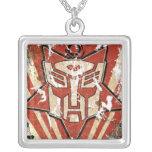 Una - el símbolo de Autobot Pendientes Personalizados