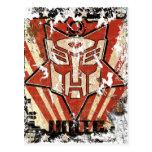 Una - el símbolo de Autobot Postal