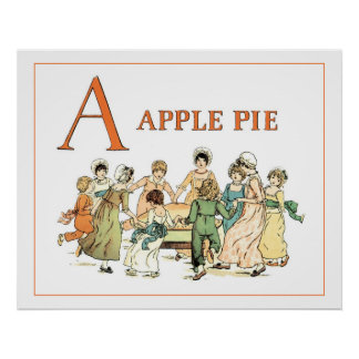 Una empanada de Apple Empanada de Apple Posters