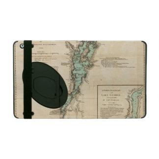 Una encuesta del lago Champlain iPad Protectores