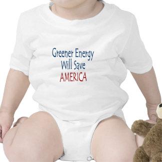 Una energía más verde ahorrará América Camiseta
