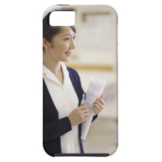 Una enfermera sonriente funda para iPhone SE/5/5s