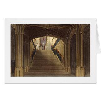 Una escalera, castillo de Windsor, de la 'residenc Tarjeta De Felicitación