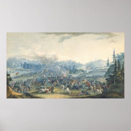 Una escena de la guerra Ruso-Turca, 1801 Póster