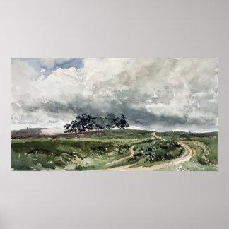 Una escena del brezo póster