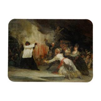 Una escena del exorcismo (véase también 59715) iman rectangular