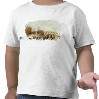 Una escena en el hielo cerca de una ciudad, c.1615 camiseta