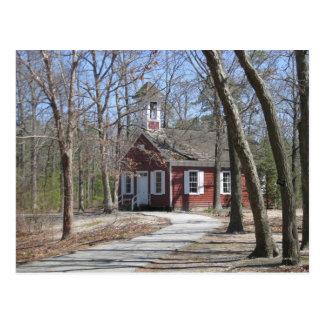 Una escuela del sitio postal
