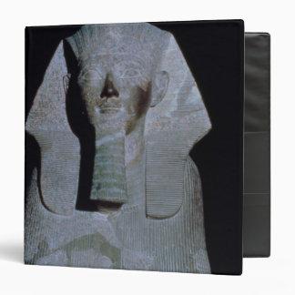 """Una esfinge de la reina Hatshepsut Carpeta 1 1/2"""""""