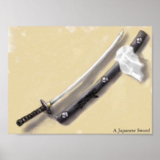 Una espada japonesa poster