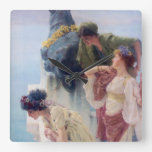 Una esquina de ventajoso - Lawrence Alma-Tadema Relojes