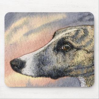 Una ESTERA tímida hermosa del RATÓN del perro Tapete De Raton