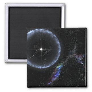 Una estrella de neutrón SGR 1806-20 Imán Cuadrado