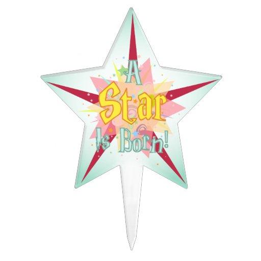 """""""Una estrella es"""" - 2 nacidos Decoraciones De Tartas"""