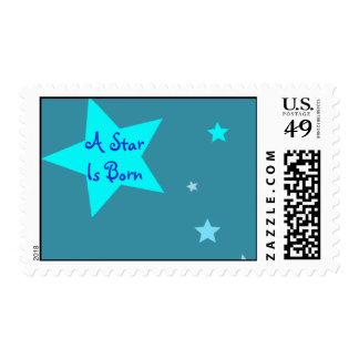 Una estrella es sellos nacidos de las estrellas az