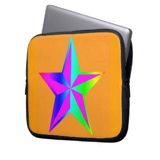 Una estrella fundas portátiles