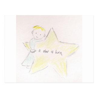 Una estrella nace postal