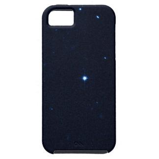 Una estrella que apresura se coge en la cámara de  iPhone 5 Case-Mate funda