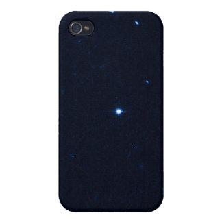 Una estrella que apresura se coge en la cámara de  iPhone 4 protectores