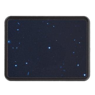 Una estrella que apresura se coge en la cámara de  tapas de tráiler